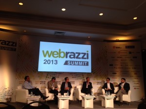"Panel discussion on Webrazzi Summit 2013 - subject: ""Mystery Conversion Algorithm with Huge Knowledge""."
