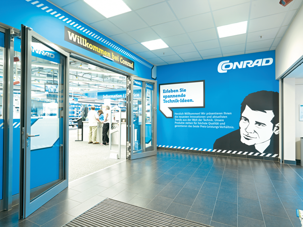 Germany's best cross channel retailer 2013: Conrad Electronic.