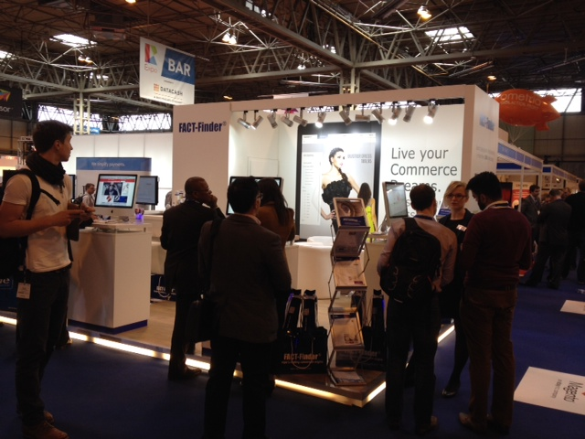 FACT-Finder booth at IRE Birmingham