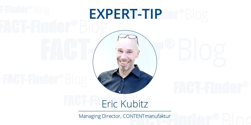 Expert Tip Eric Kubitz