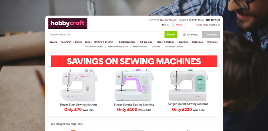 Conversion Rate Soars 170 Best Practice Hobbycraft Fact Finder