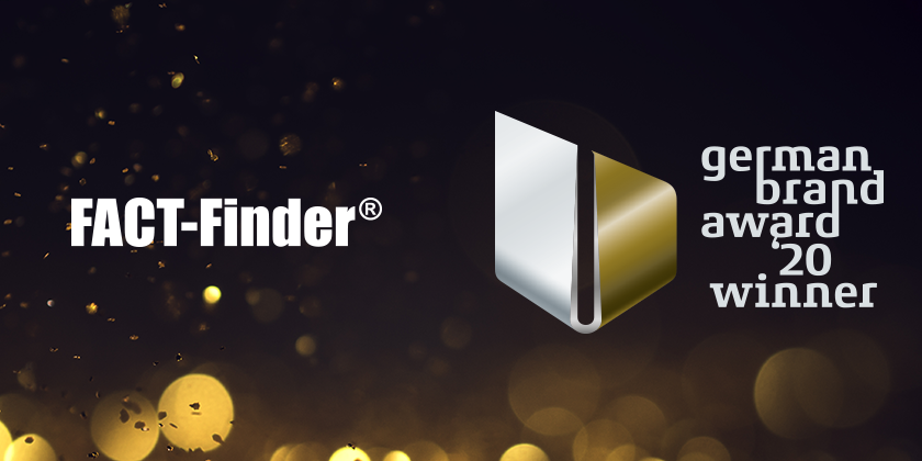 FACT-Finder wins German Brand Award 2020