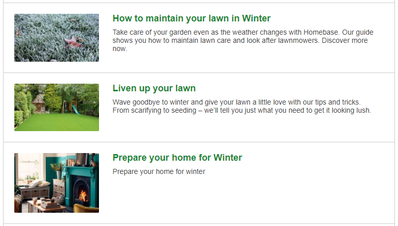 Homebase's winter blog inspiration